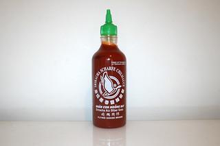 08 - Zutat Sriracha-Sauce / Ingredient sriracha sauce
