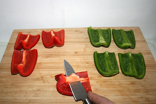 52 - Paprika entkernen / Decore bell pepper