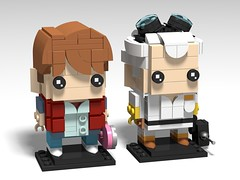 Back To The Future BrickHeadz
