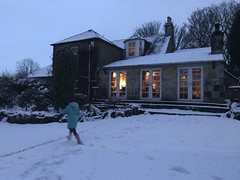 Croftfoot snow fun!