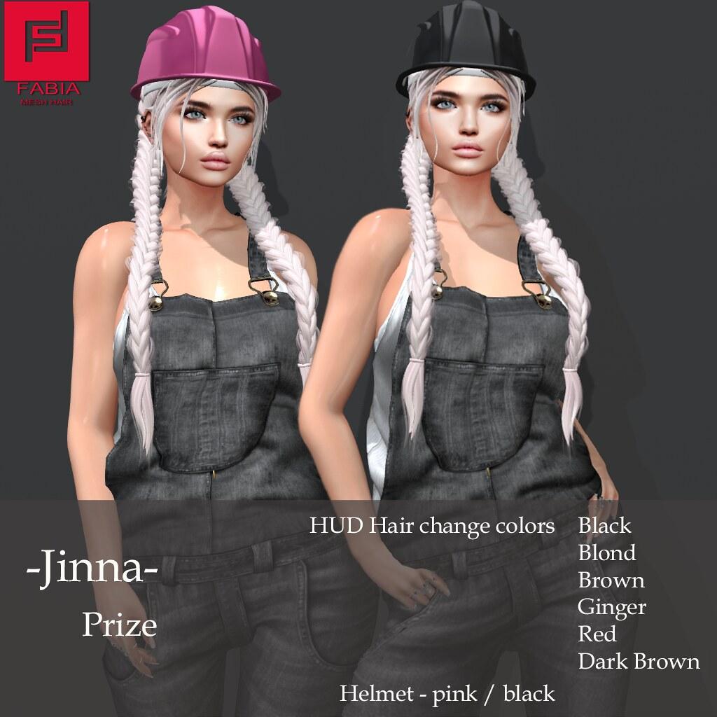 -FABIA- Gacha   <Jinna> Prize - TeleportHub.com Live!