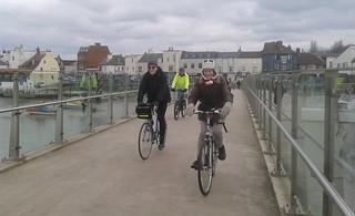 On the Adur Ferry Bridge