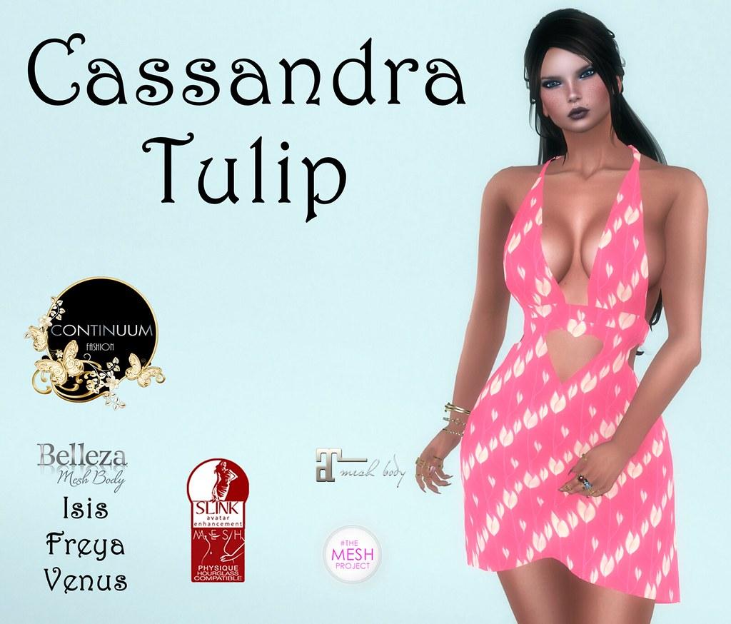 Continuum Cassandra Tulip - GIFT - TeleportHub.com Live!
