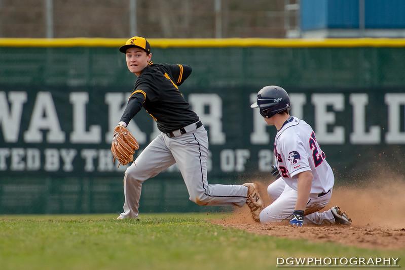 Foran High vs Jonathan Law - High School Baseball