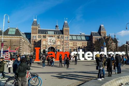 IAmsterdam Crowded