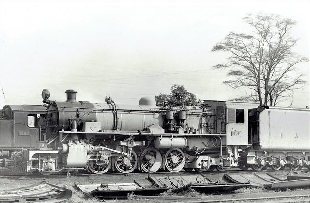 East African Railways - EAR Class 31 2-8-4 steam locomotive Nr. 3145