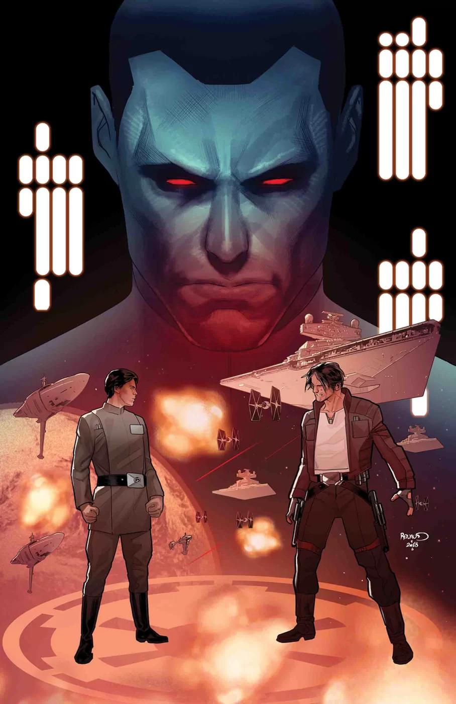 Comic Review: 'Thrawn #5' | Roqoo Depot