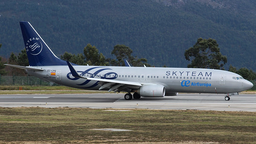 boeing 738 air europa skyteam livery