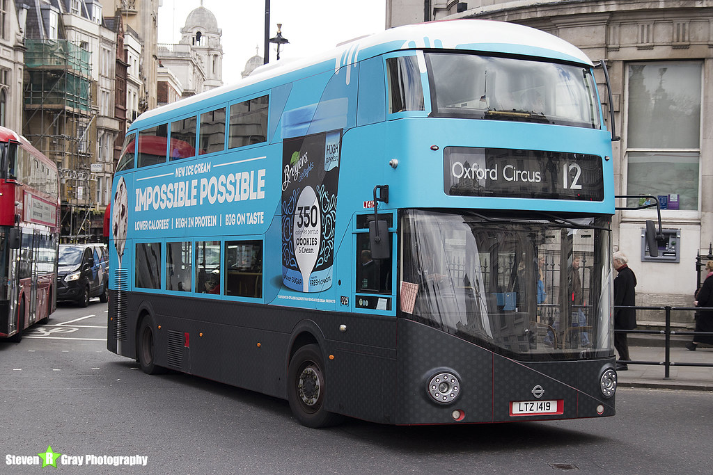 21139fc05e77 Wrightbus NRM NBFL - LTZ 1419 - LT419 - Breyers Delights - Oxford Circus 12  -