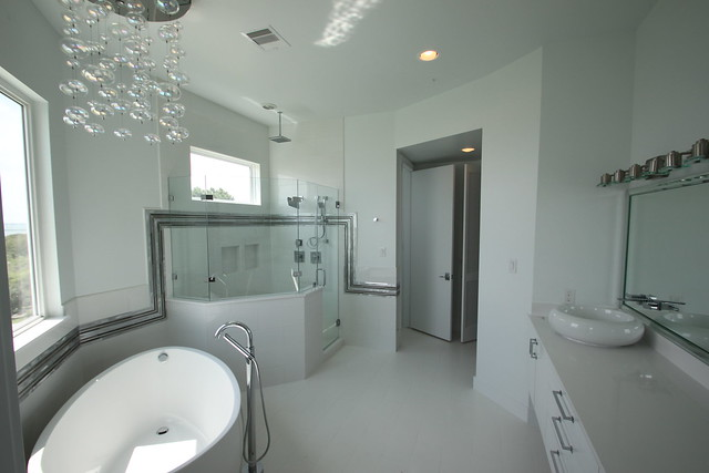 New Custom showers and Moore