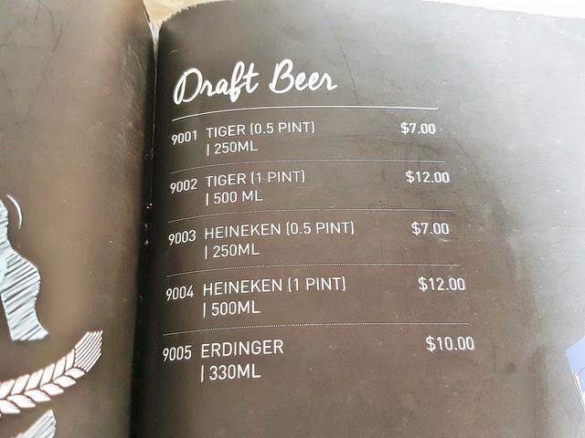 Menu - Draft Beer On Tap