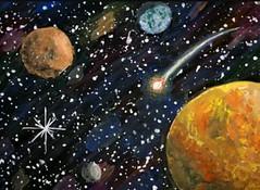 Файзуллин Данил (рук. Шакирова Диана Радиковна) - Космос