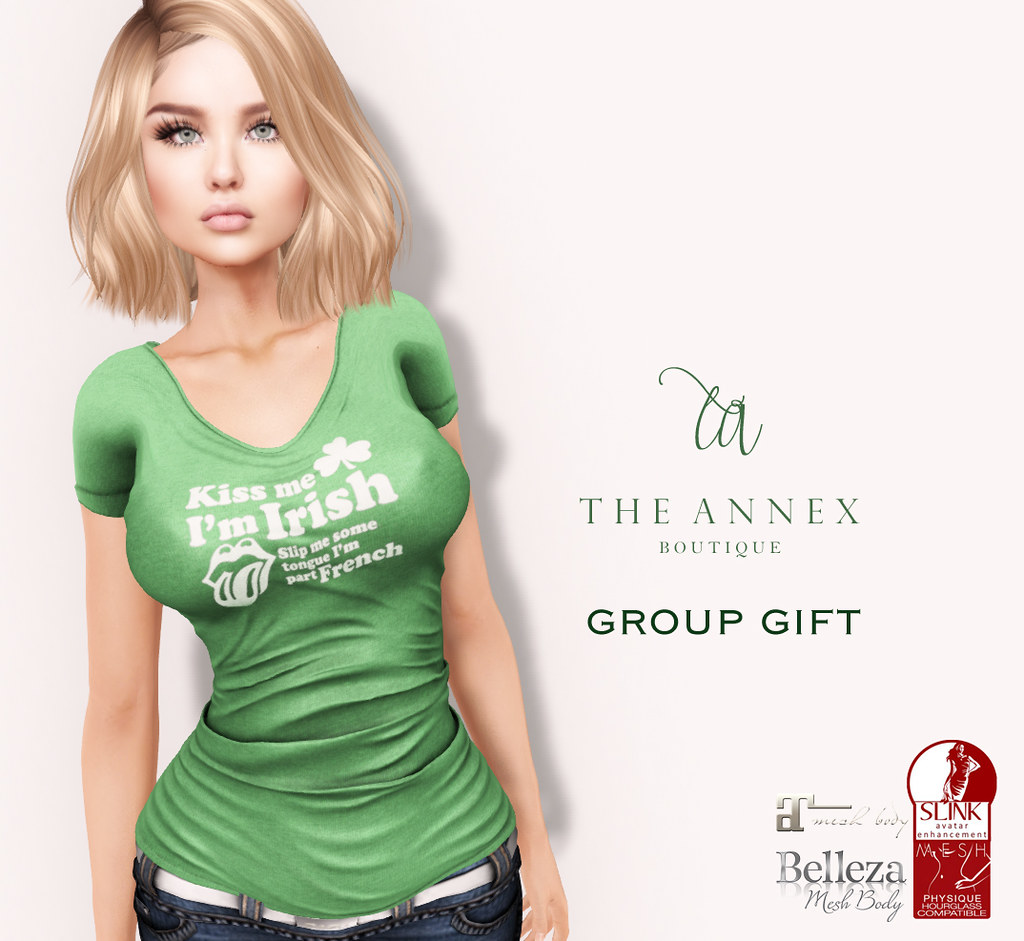 TA ST PATTY'S DAY GROUP GIFT - TeleportHub.com Live!