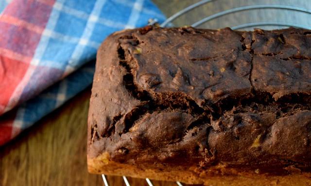Moist Chocolate Banana Cake