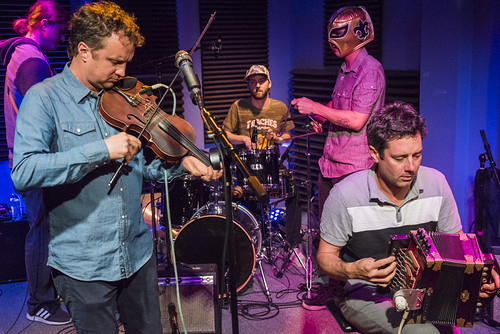 Lost Bayou Ramblers play during WWOZ's Spring 2018 Pledge Drive on March 14, 2018. Photo by Ryan Hodgson-Rigsbee RHRphoto.com