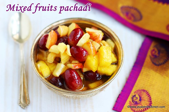 Sweet pachadi recipe