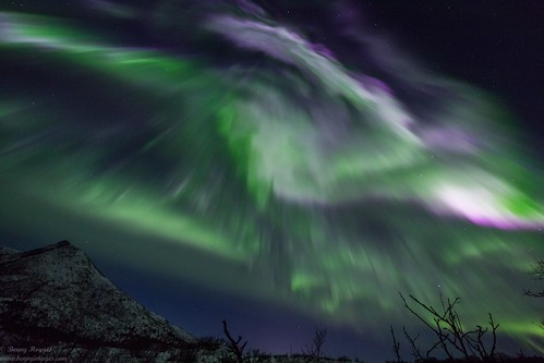 Aurora Magic over Vesterålen, Northern Norway. Photographer Benny Høynes