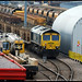 66957 on track, Doncaster