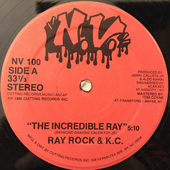 RAY ROCK & K.C.:THE INCREDIBLE RAY(LABEL SIDE-A)