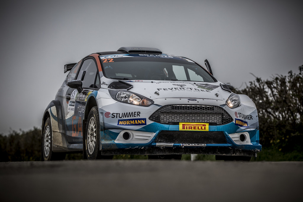 22 NEUBAUER Hermann( (aut),  ETTEL Bernhard (aut), FORD FIESTA R5, action during the 2018 European Rally Championship ERC Azores rally,  from March 22 to 24, at Ponta Delgada Portugal - Photo Gregory Lenormand / DPPI
