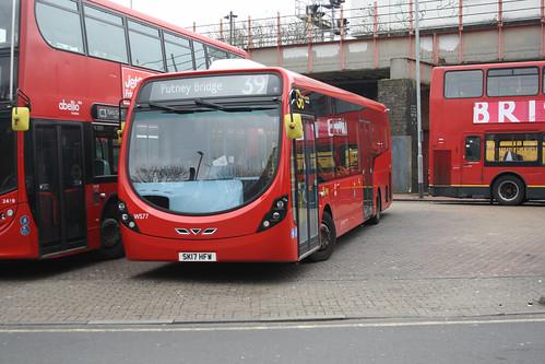 Go-Ahead London WS77 SK17HFW