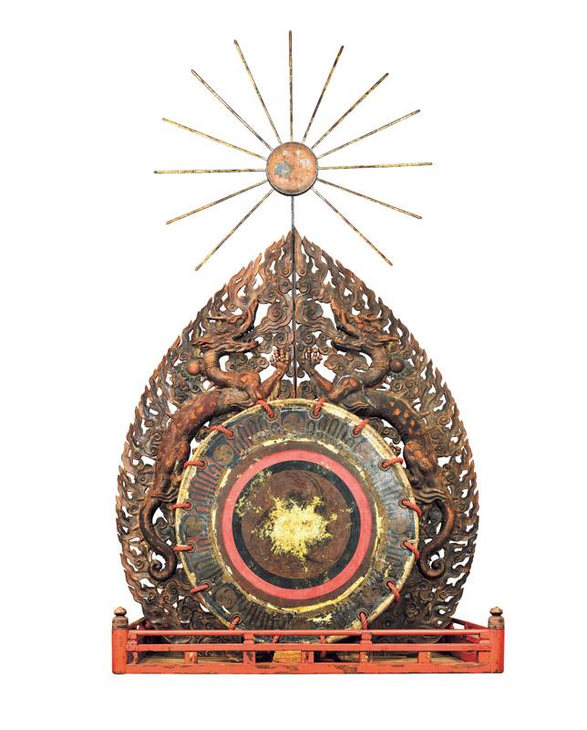 重要文化《だ太鼓(左方・龍)》(鎌倉時代、春日大社)