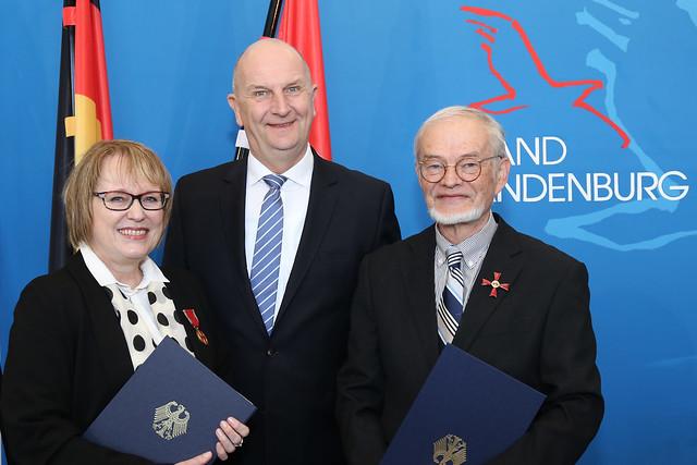 Überreichung Bundesverdienstorden 06. April 2018