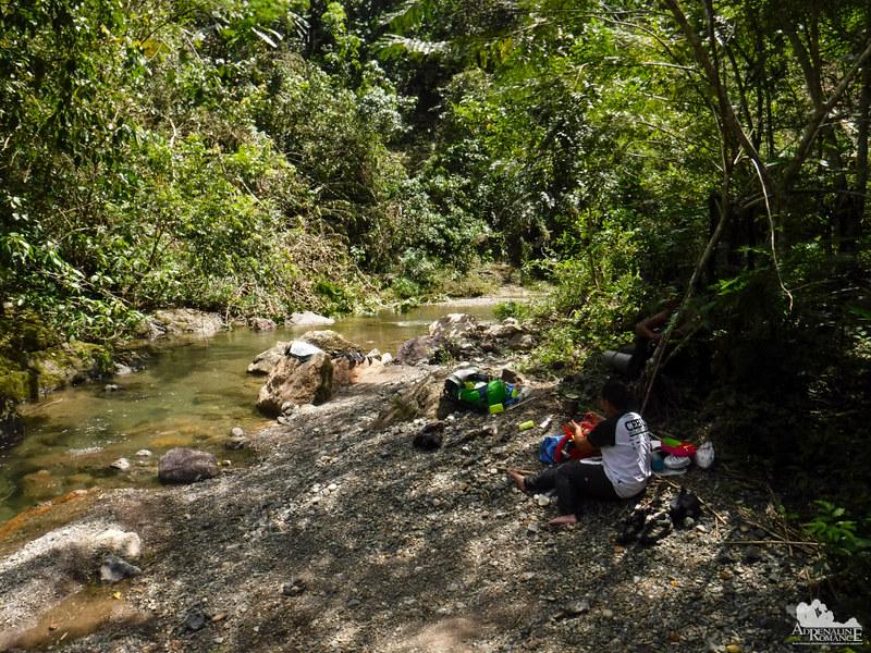 Lunch at Biasong River