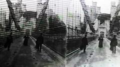 meeting on a bridge