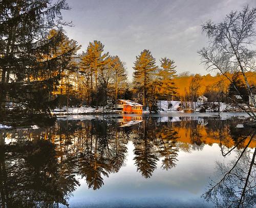 meadow lake poconos cabin