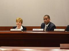 Ranking Member Rep. Zawistowski presides over a Public Hearing