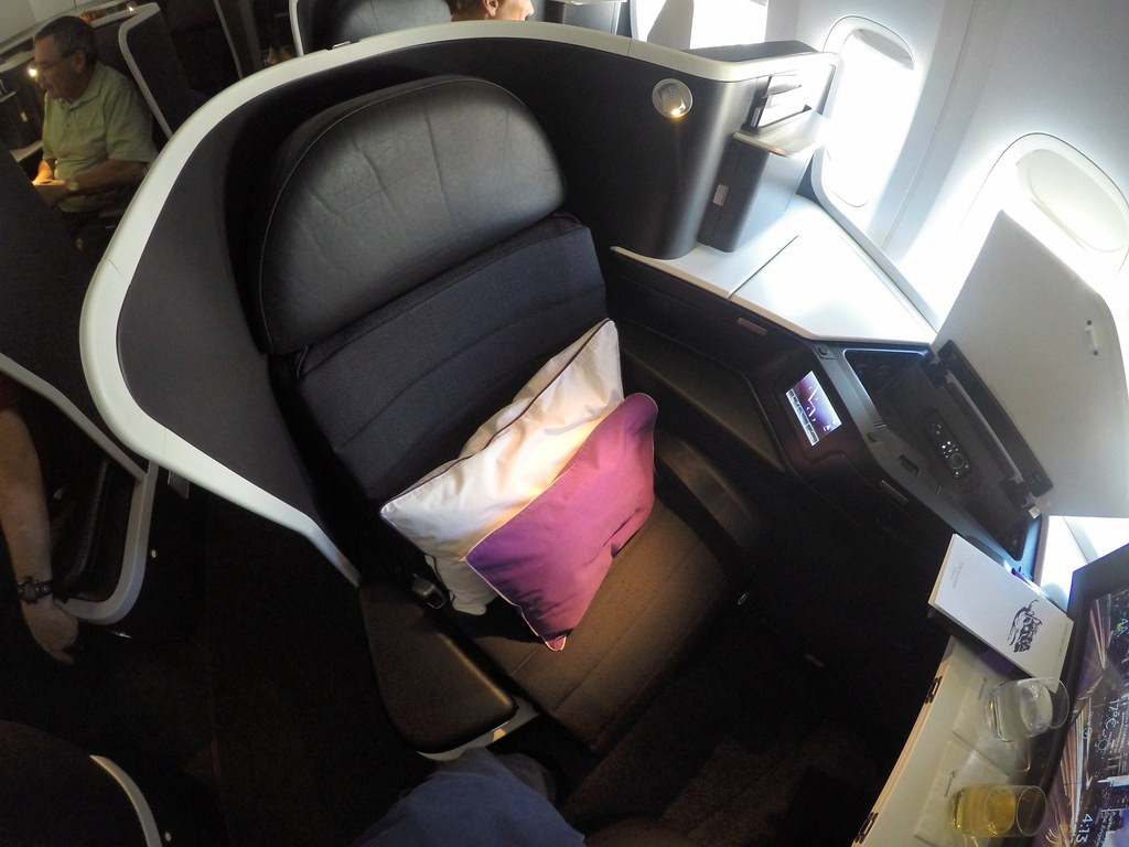 Virgin Australia business class 18
