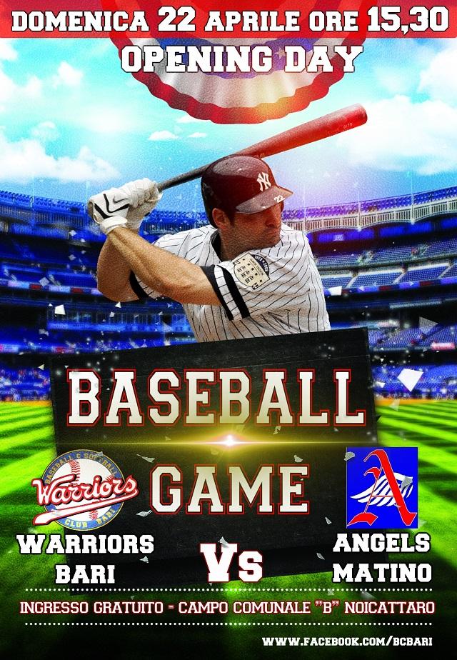Noicattaro. baseball intero
