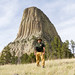Me at Devil's Tower by jpmckenna - Cathedral Lakes Provincial Park is Nex