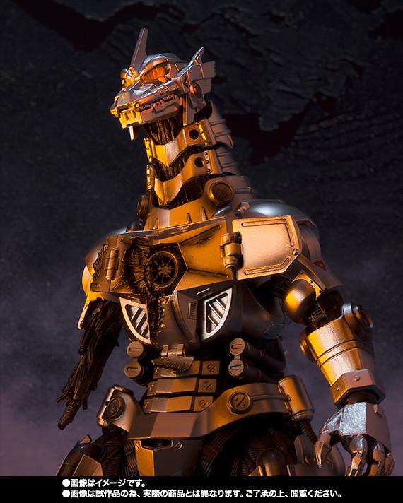 啟動.共鳴.冰碎!S.H.MonsterArts《哥吉拉×機械哥吉拉》MFS-3 3式機龍 品川最終決戰Ver.
