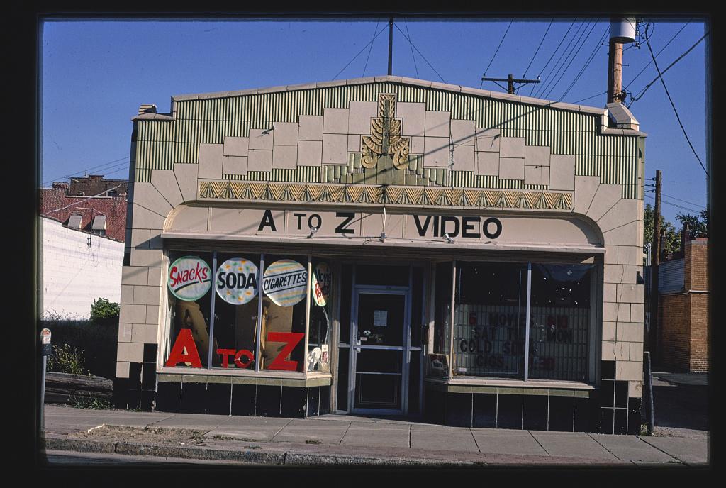 A to Z Video, Cherokee Street, Saint Louis, Missouri (LOC)