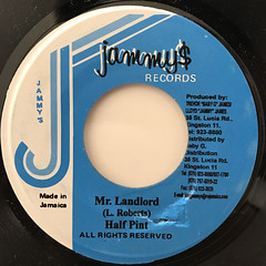 HALF PINT:MR. LANDLORD(LABEL SIDE-A)