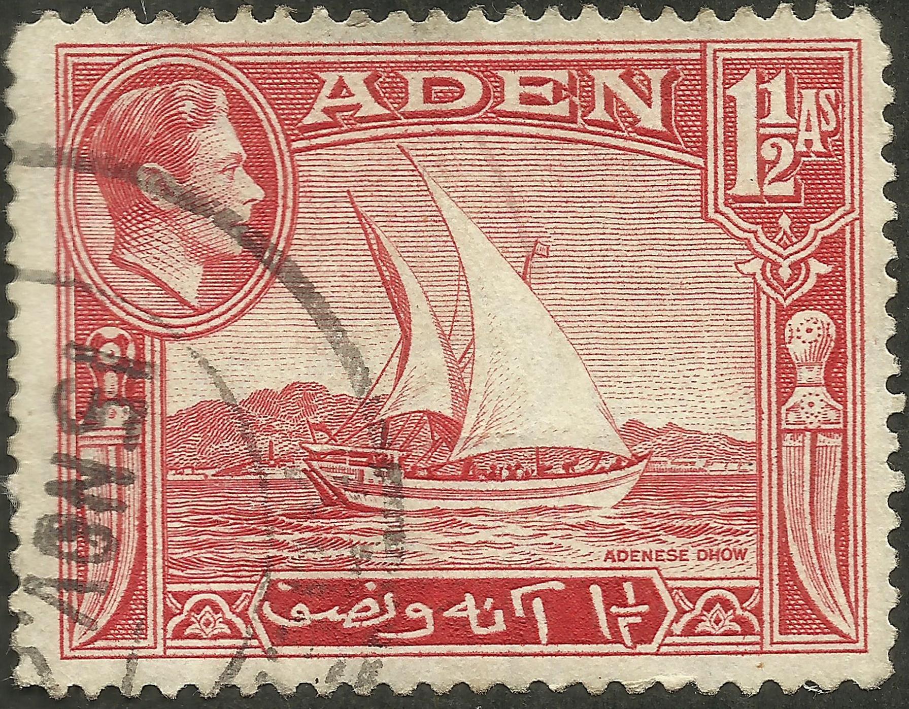 Aden - Scott #19 (1939)