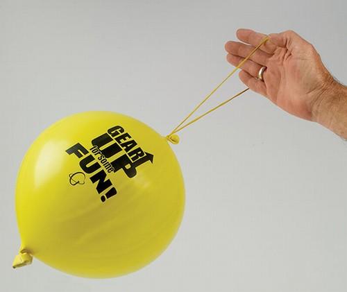 Punchballon Bedrukt