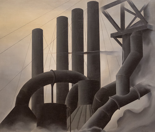 Elsie Driggs, Pittsburgh, 1927 1/15/18 #whitneymuseum