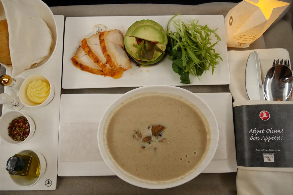 土耳其航空商務艙機上餐