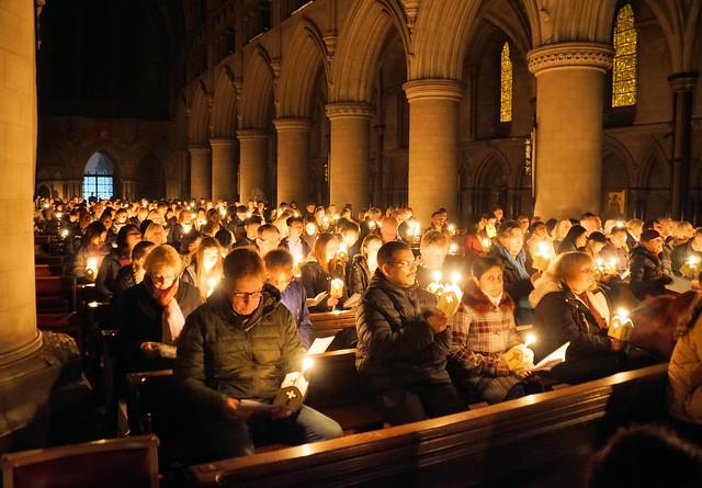 Easter Vigil SJB Norwich March 18