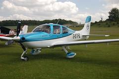 G-ETFL Cirrus Design SR-22 (2899) Popham 140609