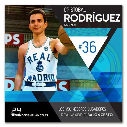 #36 CRISTÓBAL RODRÍGUEZ