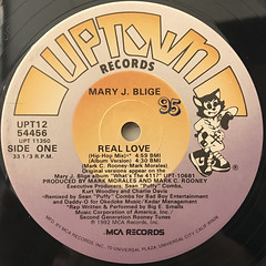 MARY J. BLIGE:REAL LOVE(LABEL SIDE-A)