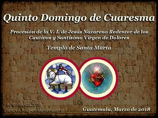 Quinto Domingo de Cuaresma, Santa Marta