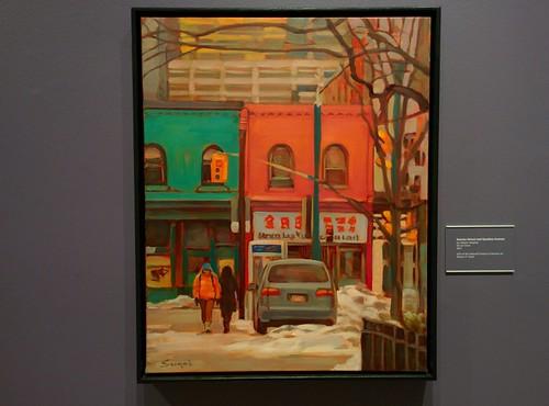 Nassau Street and Spadina Avenue 2011#toronto #tdgallery #rajeevsinghal #nassaustreet #spadinaavenue #chinatown #painting #torontorevealed #torontoreferencelibrary #latergram