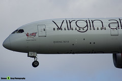 G-VZIG - 37969 - Dream Jeannie - Virgin Atlantic Airways - Boeing 787-9 - Heathrow - 170402 - Steven Gray - IMG_1150