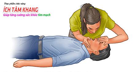 Hô hấp nhân tạo nếu như bệnh nhân bất tỉnh
