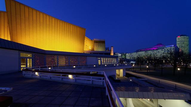 Berliner Philharmonie und Potsdamer Platz